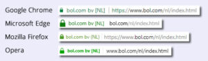 HTTPS in de browser voor Bol.com